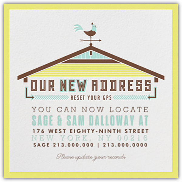 Were Moving Change of Address Cards free printables – Free Change of Address