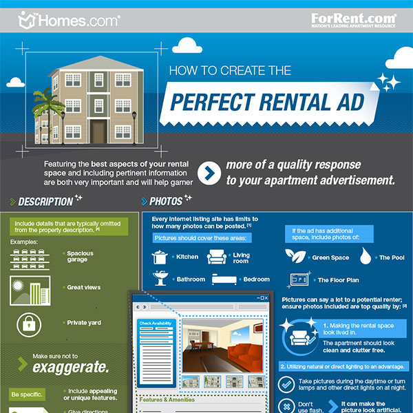 Best House Rental Site: [INFOGRAPHIC:] How To Create The Perfect Rental Ad