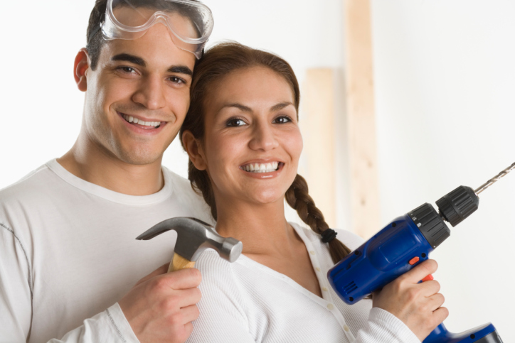 Couple ready to renovate