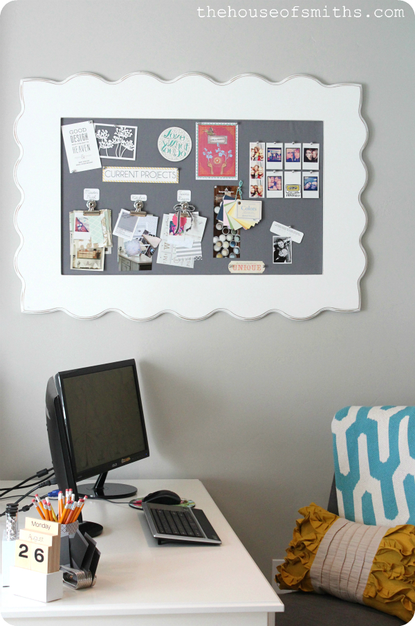 Office Makeover - The House of Smiths Blog (1)