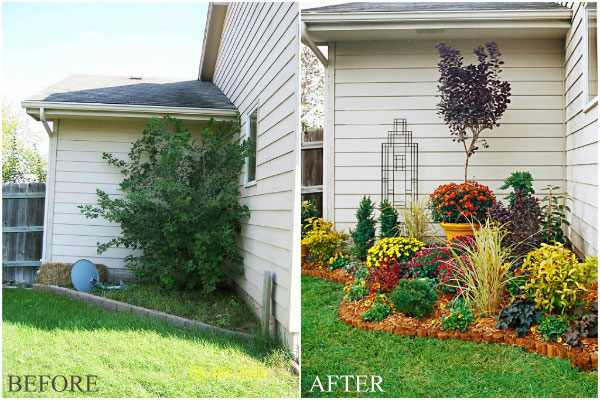 Flowerbed-makeover-curb-appeal