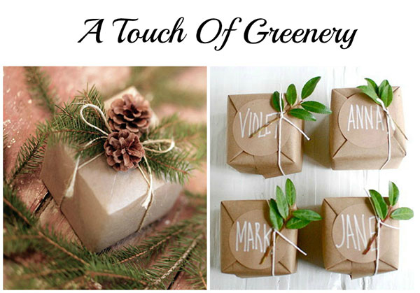 greenery-on-gifts