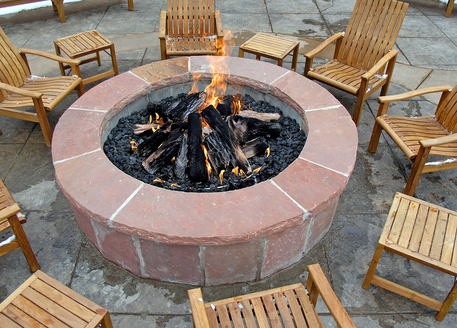 outdoor fireplace safety and maintenance