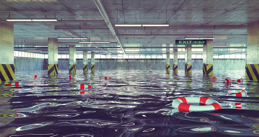 how to repair a flooded basement
