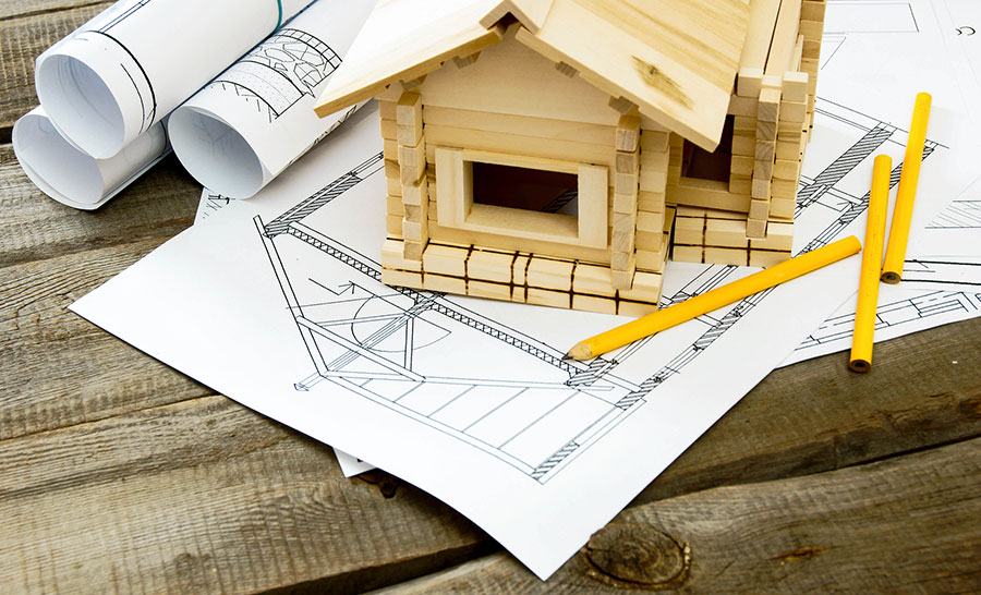 bigstock-Many-drawings-for-building-and-86761604