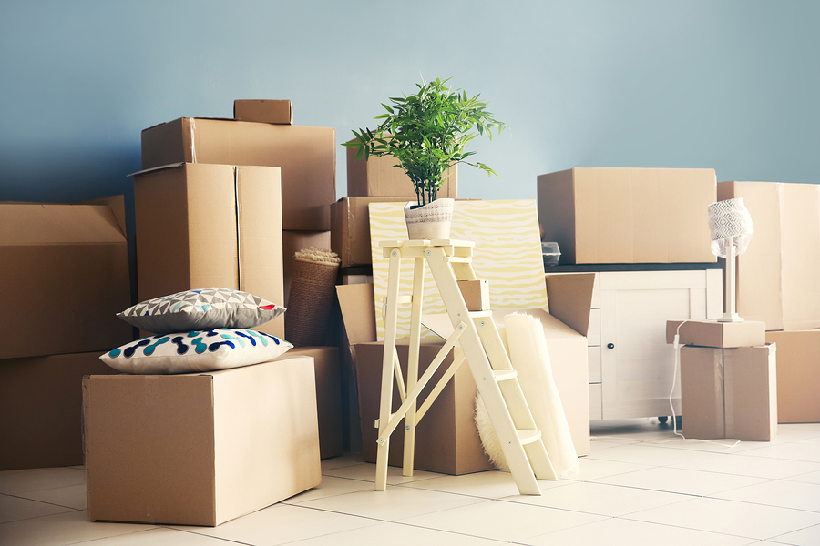 moving into a new home without stress
