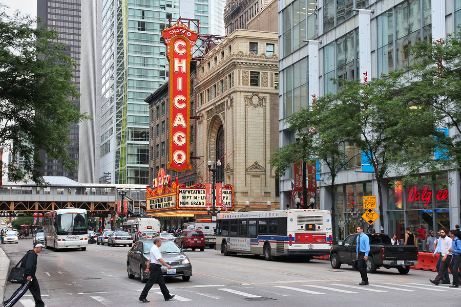 cities for tv lovers - chicago