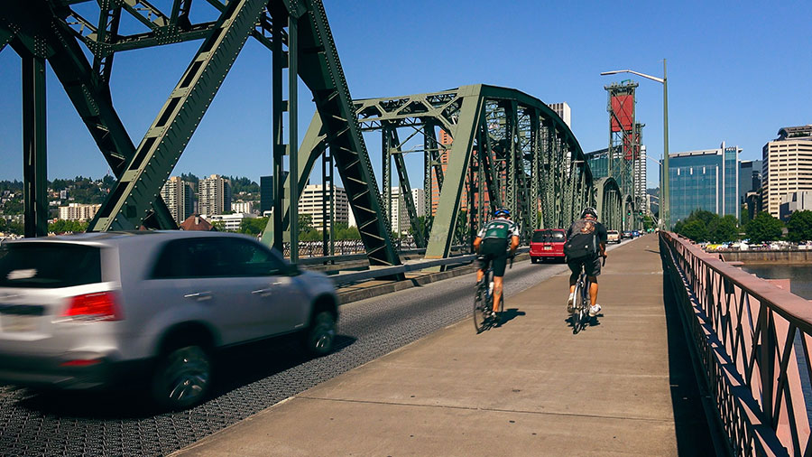cities for fitness buffs: portland, oregon