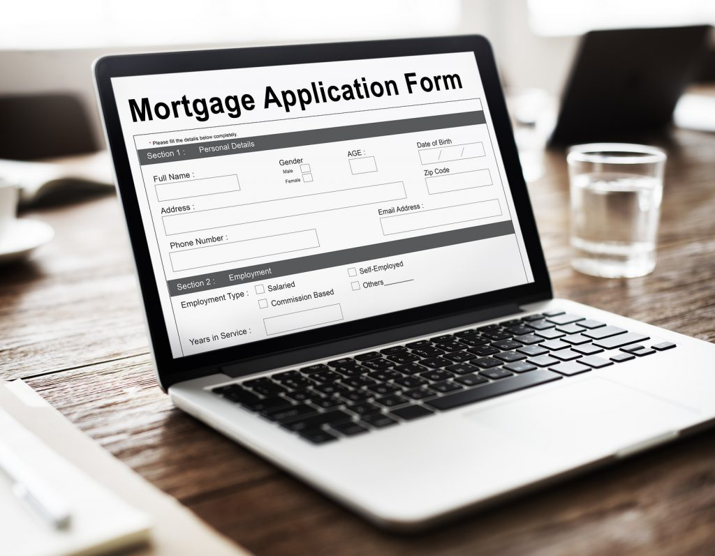 Electronic Mortgage Application Form