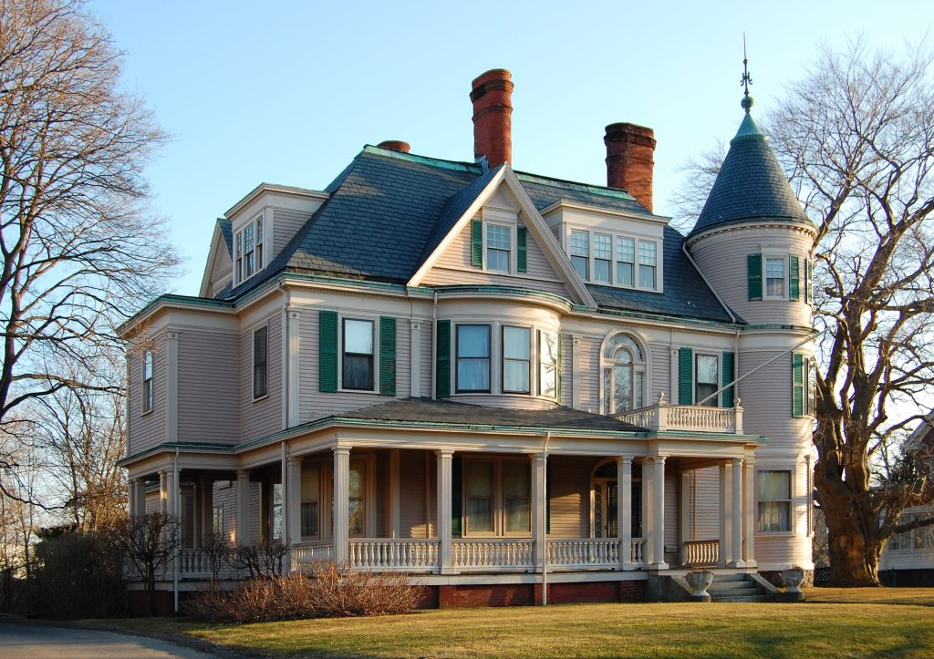 Queen Anne Style House
