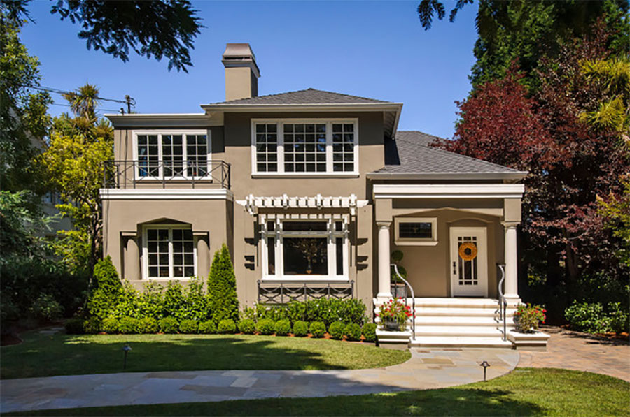 West-Bellevue-Traditional-Exterior-San-Francisco-by-Dennis-Mayer-Photographer