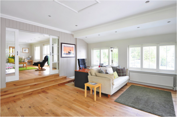 projects that increase home value remove carpeting