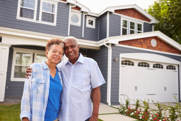 mortgage after retirement Senior Couple